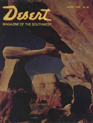magazine book shop - Desert Magazine of the Southwest