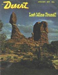 Lost Mine Found! - Desert Magazine of the Southwest