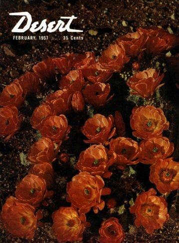 DESERT CflLEnDflR - Desert Magazine of the Southwest