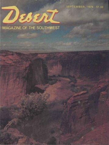 Books for - Desert Magazine of the Southwest