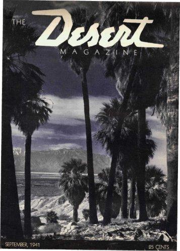 194109-DesertMagazin.. - Desert Magazine of the Southwest