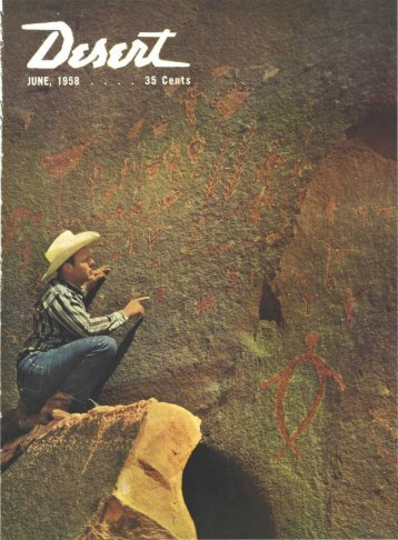 JUNE, 1958 - Desert Magazine of the Southwest