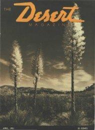 195104-DesertMagazin.. - Desert Magazine of the Southwest
