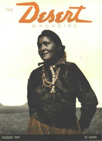 THE M A' G A Z N E - Desert Magazine of the Southwest