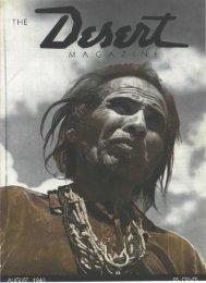 M A G A N E - Desert Magazine of the Southwest