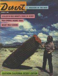 southern california desert edition - Desert Magazine of the Southwest