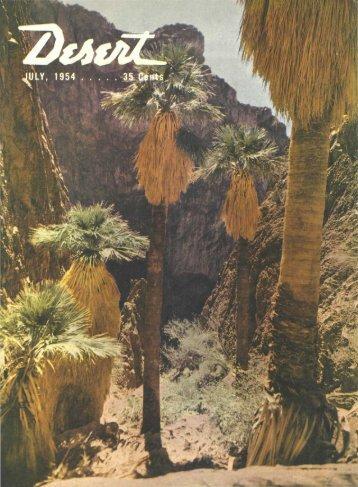 fl MELD GUIDE TO ROCKS flflD minERflLS - Desert Magazine of the ...