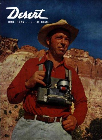 By helen k. burbank - Desert Magazine of the Southwest