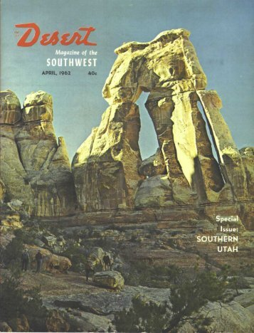 Issue - Desert Magazine of the Southwest