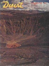 Treasure found - Desert Magazine of the Southwest