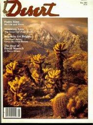 May, 1981 - Desert Magazine of the Southwest