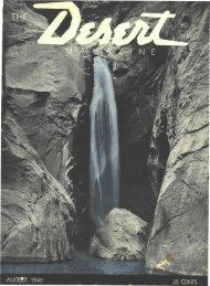 INE - Desert Magazine of the Southwest