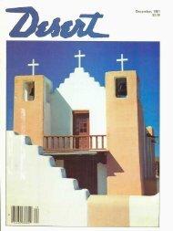 December, 1981 $2.00 - Desert Magazine of the Southwest