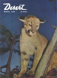 Limns - Desert Magazine of the Southwest