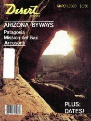BYWAYS PLUS: DATES! - Desert Magazine of the Southwest