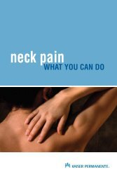 Neck Pain: What You Can Do