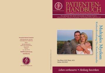 Patienten- handbuch - International Myeloma Foundation