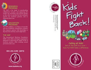 to download a PDF of the KIDS FIGHT BACK! - International ...