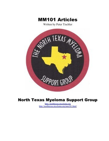 MM101 Articles - North Texas Myeloma Support Group ...