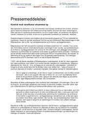 pressemeddelelse (PDF) - Godkendte vandhaner.dk