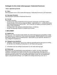2013 Vedtægter med forslag til ændringer - LAG Hedensted