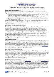 Nyhedsbrev nr. 2, 11. november 2010 - DBCG