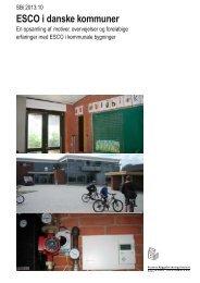 ESCO i danske kommuner - Statens Byggeforskningsinstitut