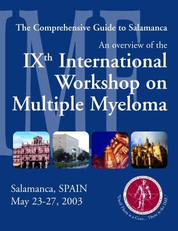 Salamanca, SPAIN May 23-27, 2003 - International Myeloma ...