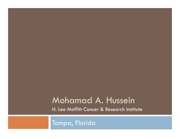 Mohamad A. Hussein