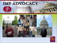 Advocacy Training - North Texas Myeloma Support Group