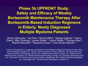 Phase 3b UPFRONT Study: Safety and Efficacy of Weekly ...