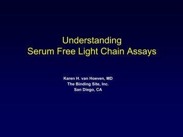 Understanding Serum Free Light Chain Assays - International ...