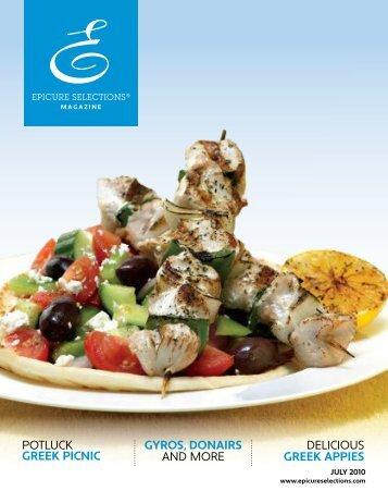 Epicure's Greek Salad - My Epicure