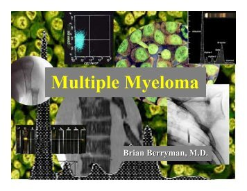 Multiple Myeloma - North Texas Myeloma Support Group