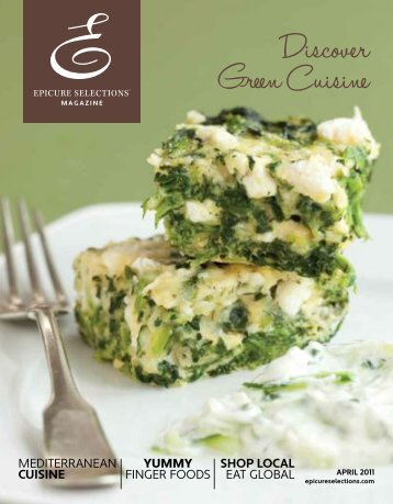 discover green cuisine issue - My Epicure
