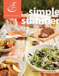 Simple summer - My Epicure