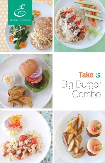 Big Burger Combo - My Epicure