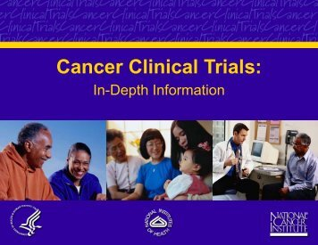 Cancer Clinical Trials: In-Depth Information