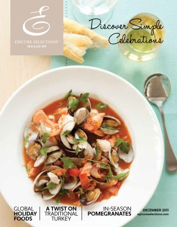 Discover Simple Celebrations - My Epicure