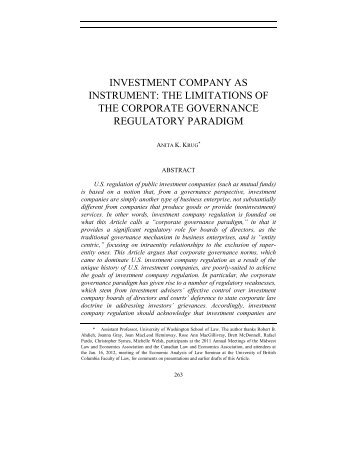 CORPORATIONS BEYOND CORPORATE LAW - USC Gould ...