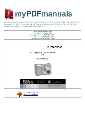 user manual polaroid 545 pro film holder 1 rh yumpu com