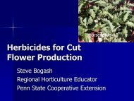 Presentation on herbicides for cut flowers