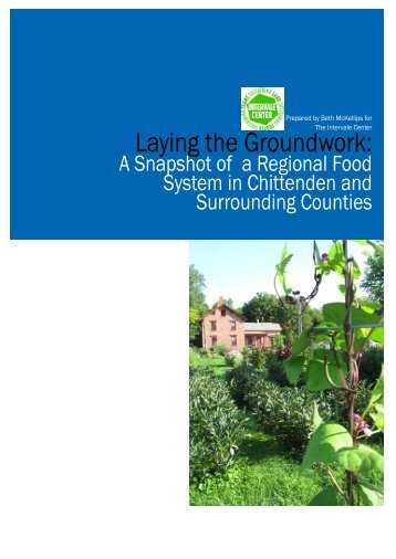 Laying the Groundwork - Sustainable Agriculture Research and ...