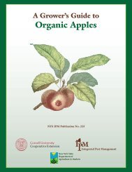 A Growers Guide to Organic Apple Production