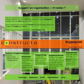 Byggeguide - Constructa A/S