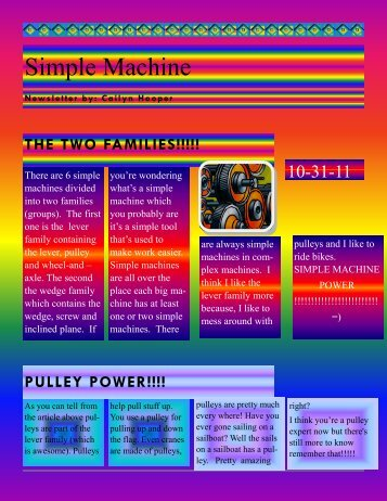 Simple Machine