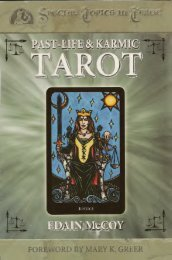 Past Life and Karmic Tarot - myteacup