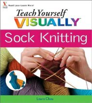 Teach Yourself VISUALLY Sock Knitting - myteacup