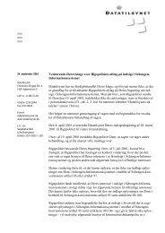 Læs Datatilsynets afgørelse af 24. september 2001 i anonymiseret ...
