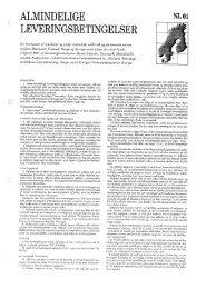 Hent Almindelige Fællesnordiske Betingelser NL01 i PDF format.